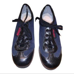 Asham Canada Blue Suede Curling Shoes